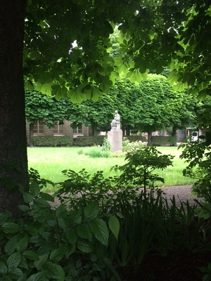 Jardin congrégation religieuse