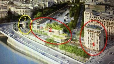 Le projet de constructions place Mazas