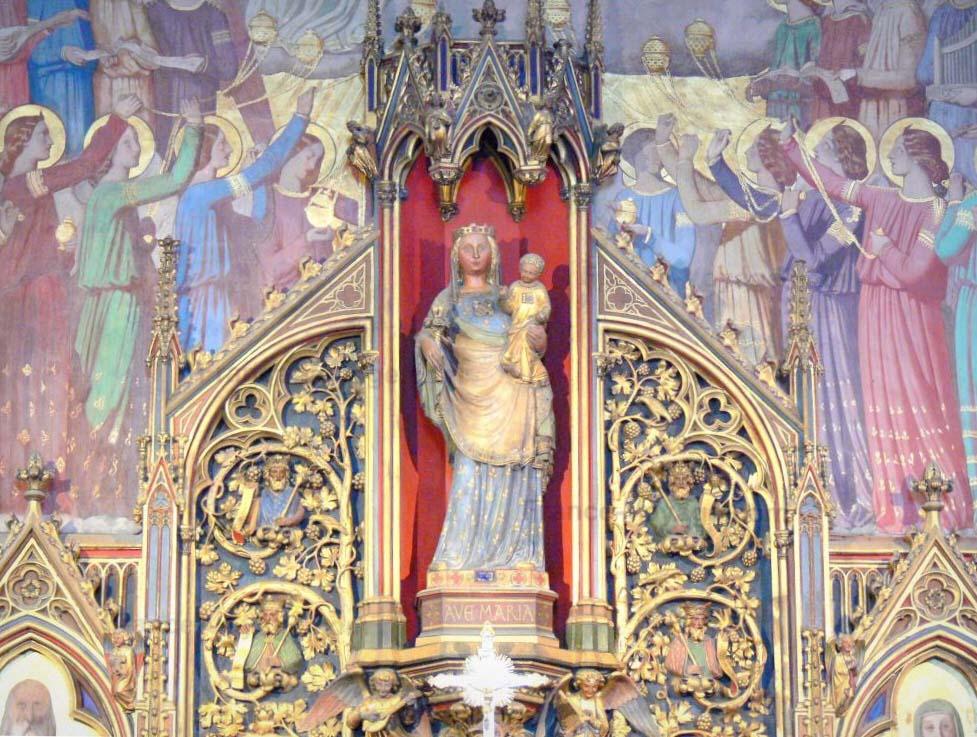 Saint-Germain-l'Auxerrois, chapelle de la Vierge.